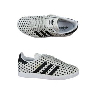 Adidas X The Farm Gazelle Polka Dot Shoes Size 6